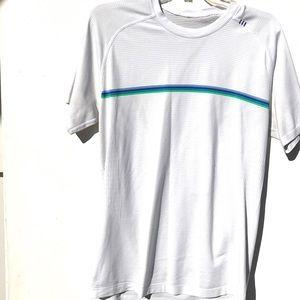 Lululemon Metal vent Shirt Medium M white rare